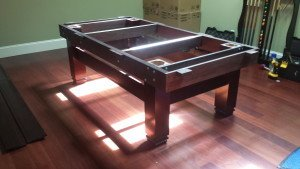 Pool and billiard table set ups and installations in Kettering Ohio